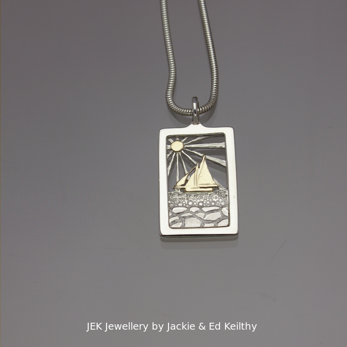 Image of the Galway Bay pendant